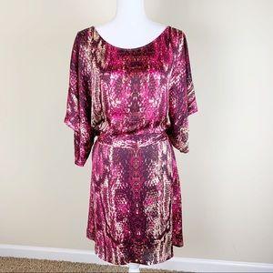 BCBGMaxAzria oversized snake skin design Dress/Top